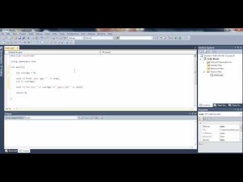 microsoft visual studio tutorial c++