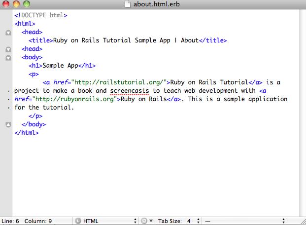 ruby on rails tutorial michael hartl