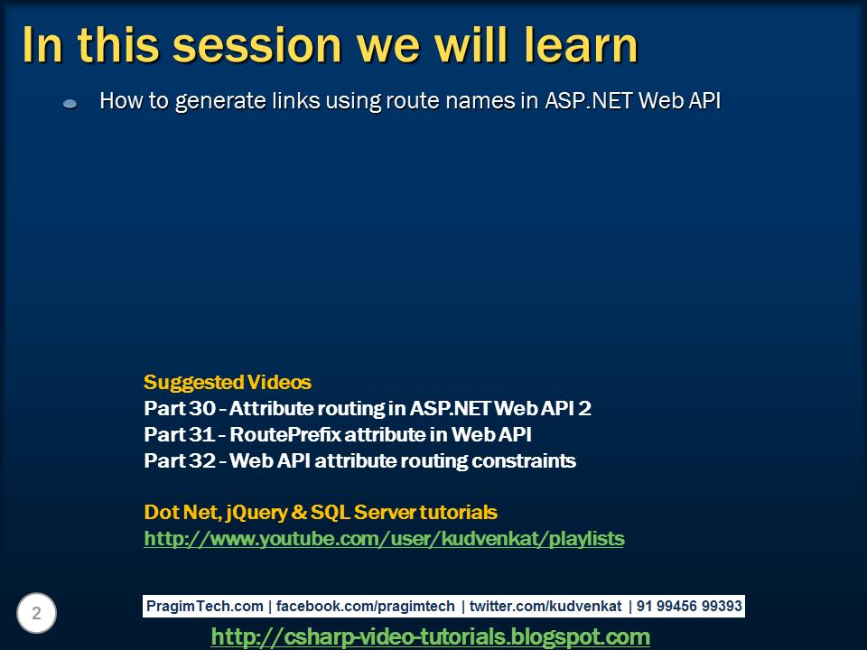 web api asp net tutorial