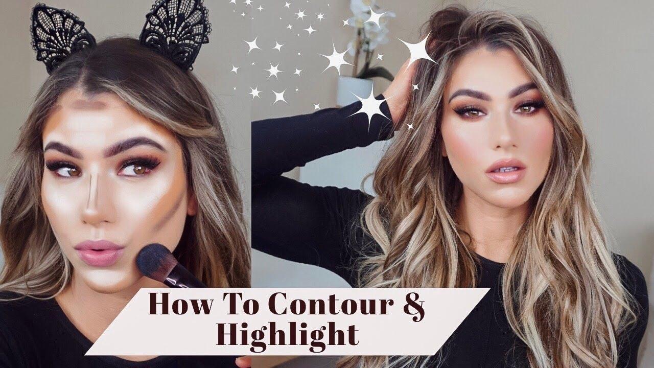 contour makeup tutorial for beginners