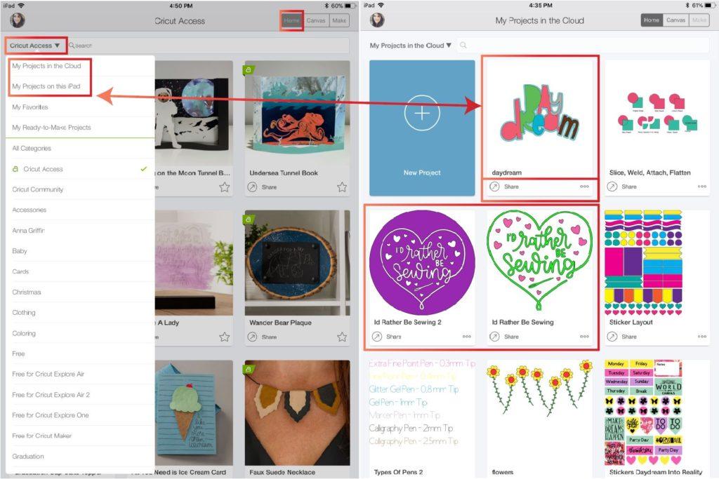cricut design space app tutorial