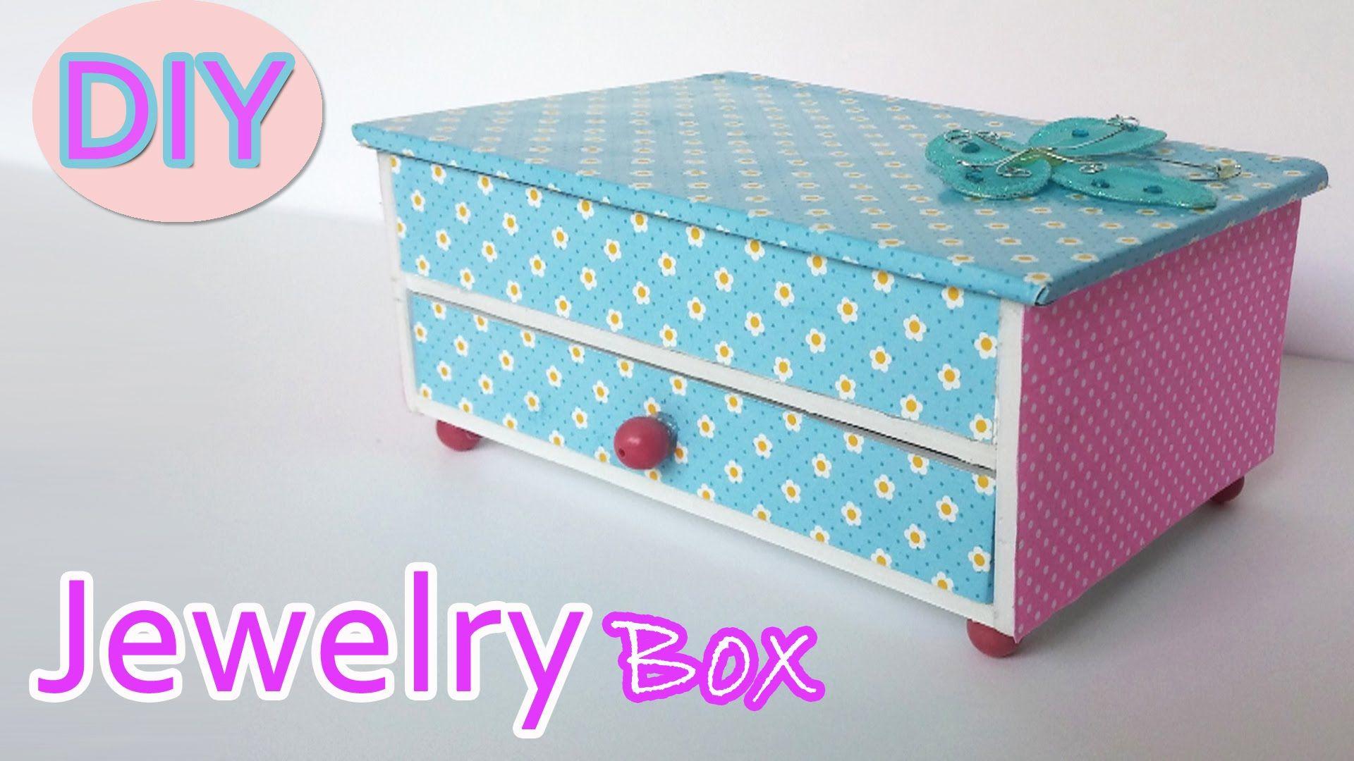 diy jewellery box tutorial
