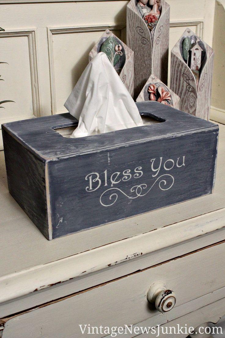 tissue box cover tutorial