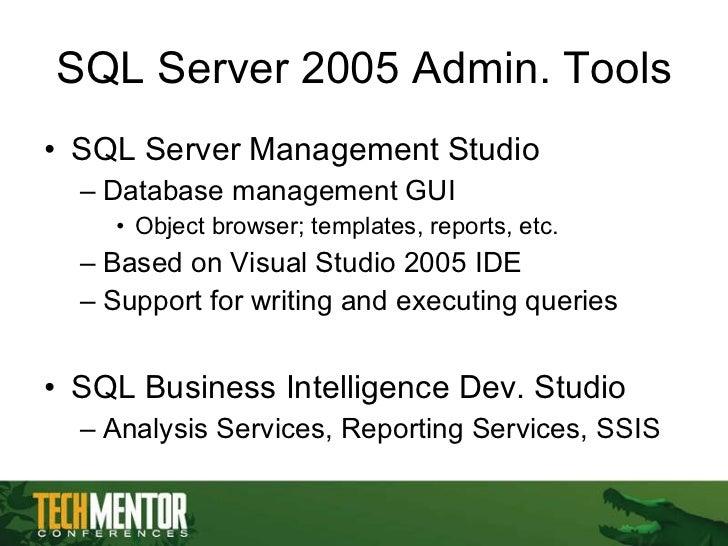 sql server management tutorial