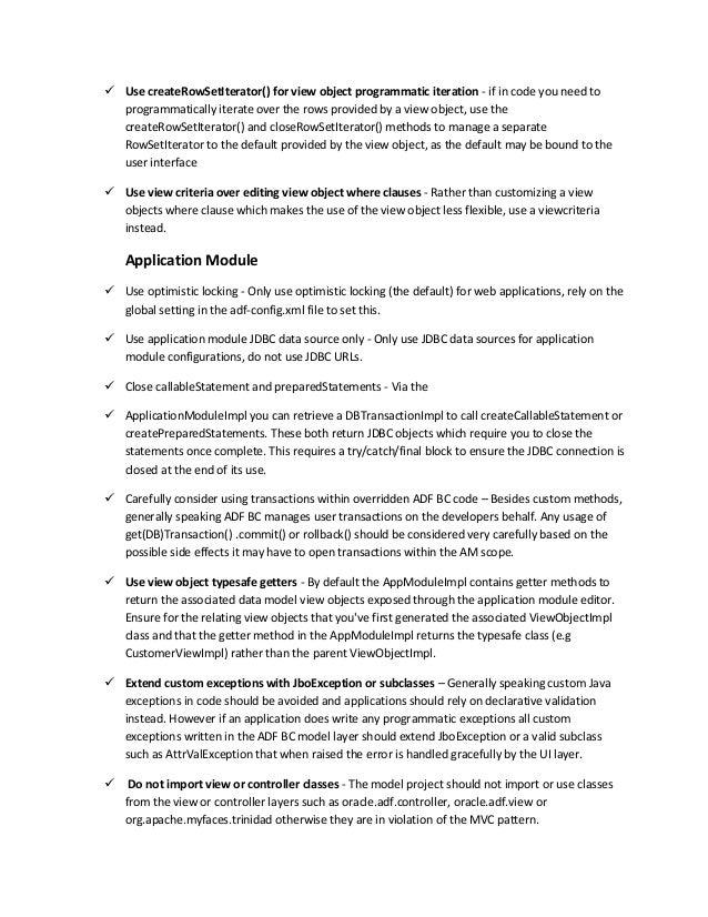 oracle application development framework tutorial