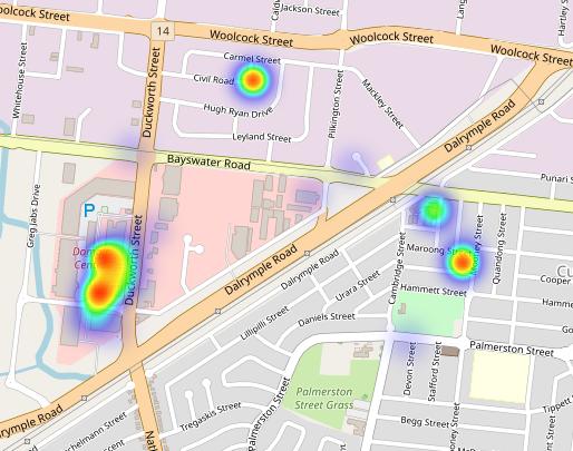 google heat map tutorial