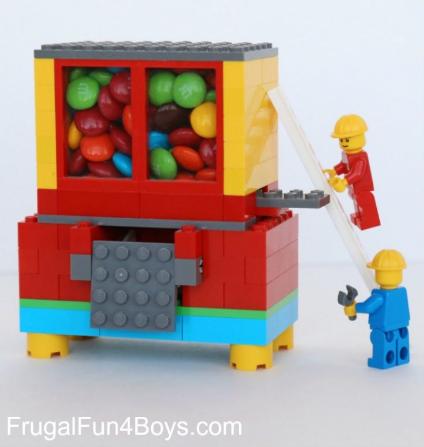 lego candy machine tutorial easy