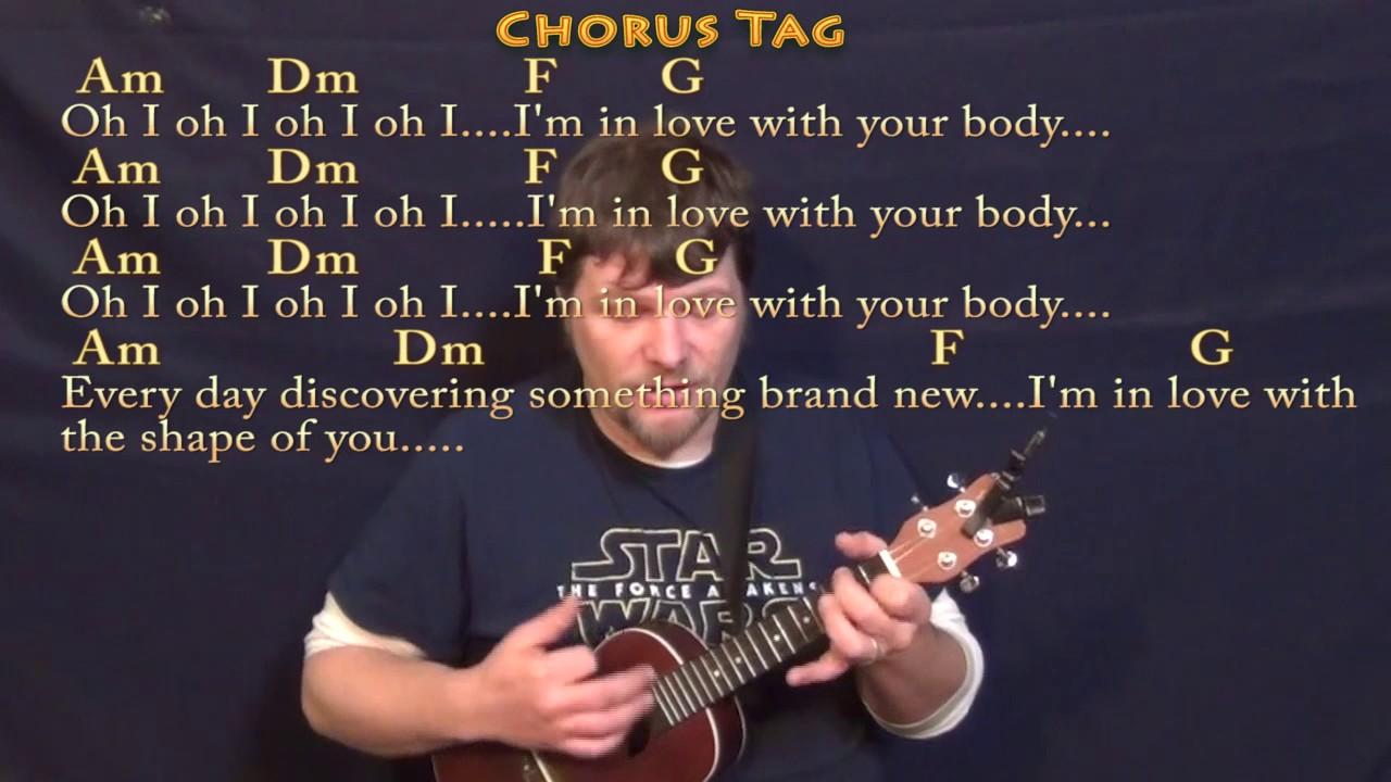 shape of you ukulele tutorial