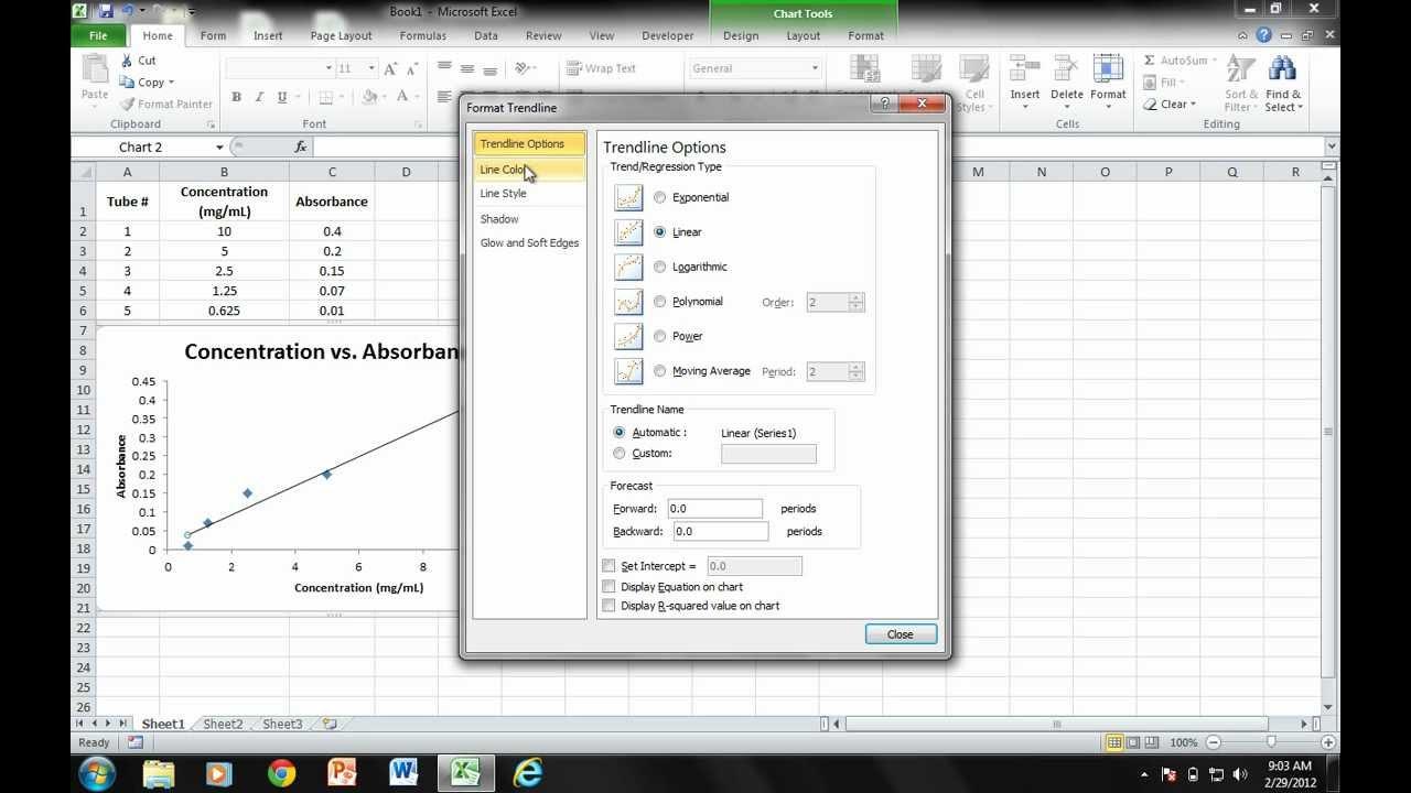excel 2010 graph tutorial