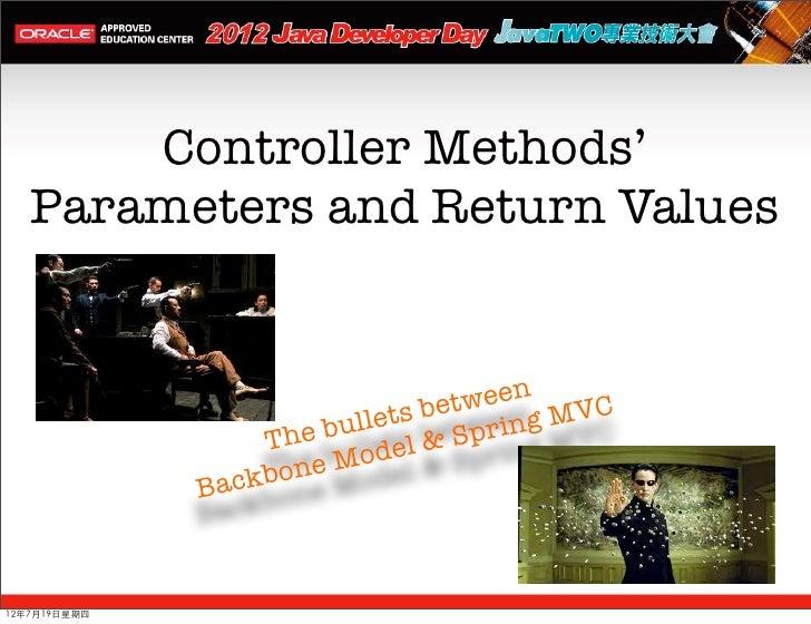 backbone js spring mvc tutorial