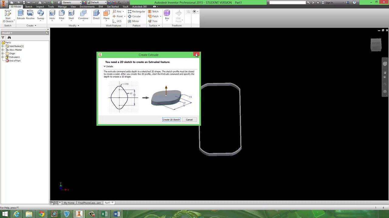 autodesk inventor 2015 tutorial