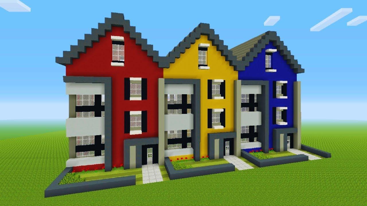minecraft town house tutorial