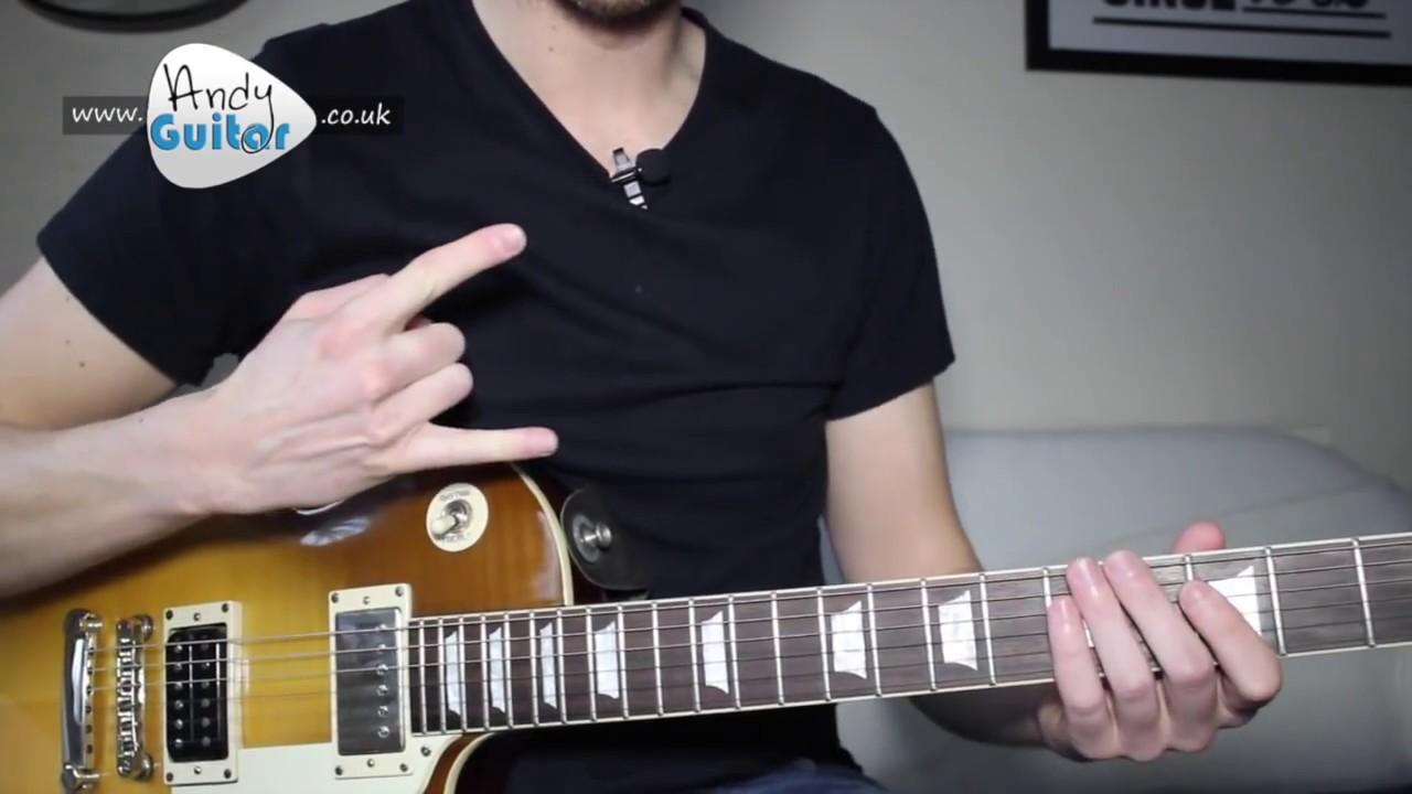 how he loves guitar tutorial