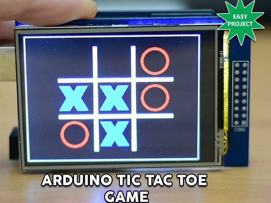 arduino touch screen tutorial