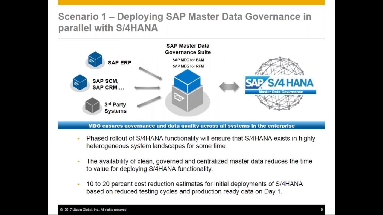 sap master data governance tutorial