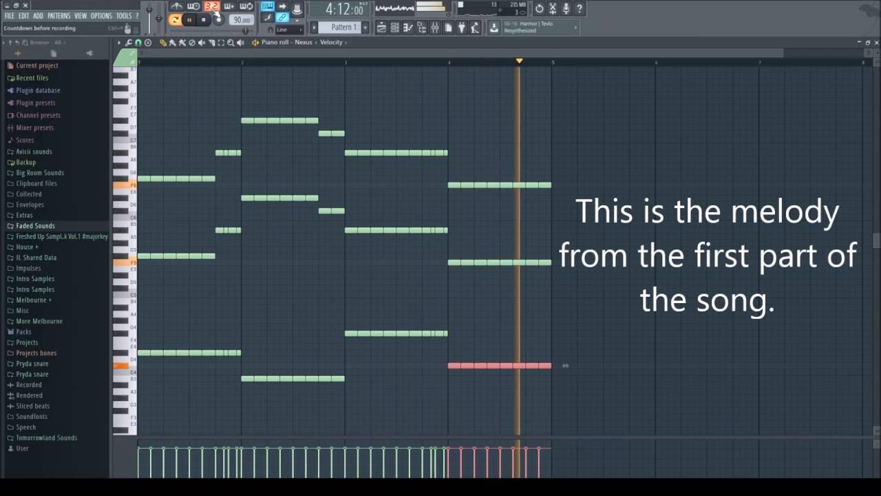 fl studio piano tutorial