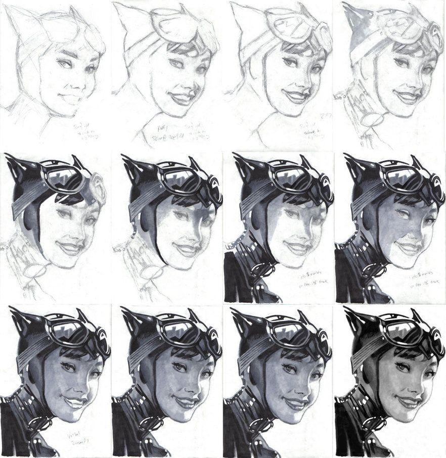 portrait drawing video tutorial