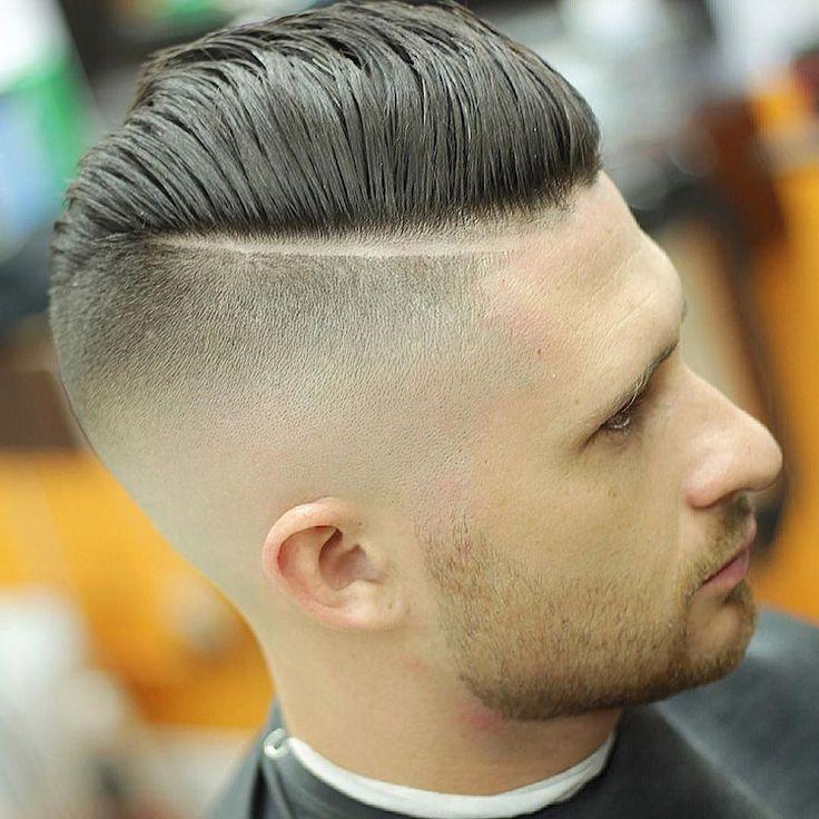 hard part haircut tutorial