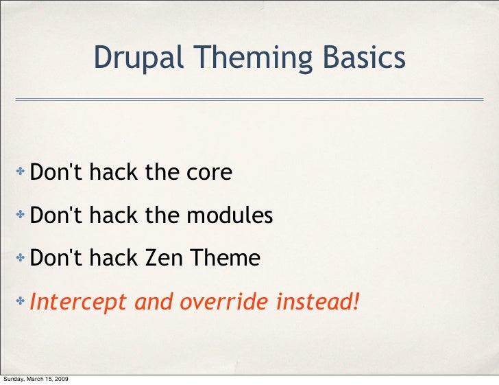 drupal zen theme tutorial