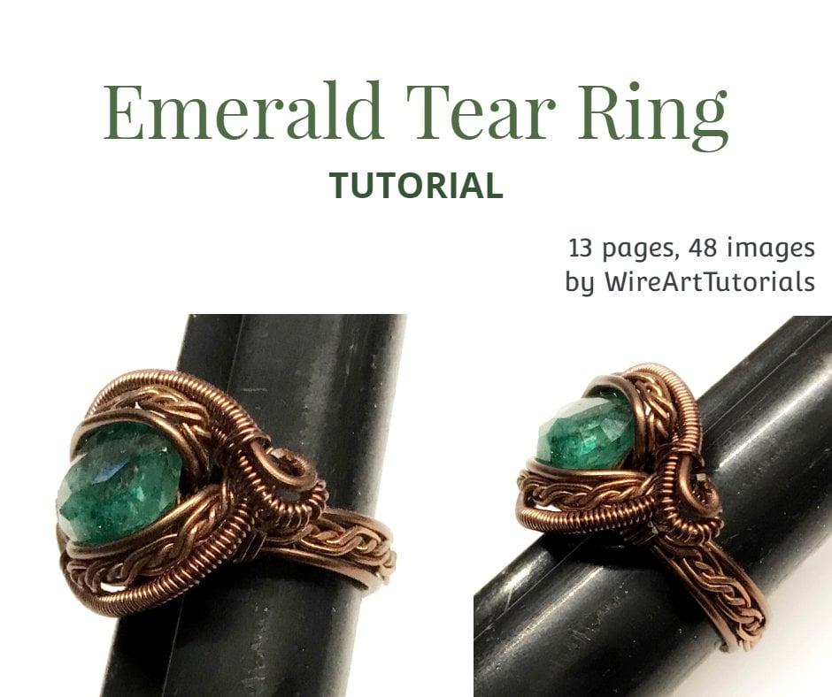 wire weaving cabochon tutorial