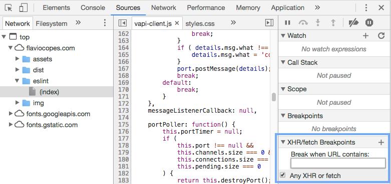 chrome javascript debugger tutorial