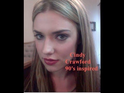 cindy crawford makeup tutorial