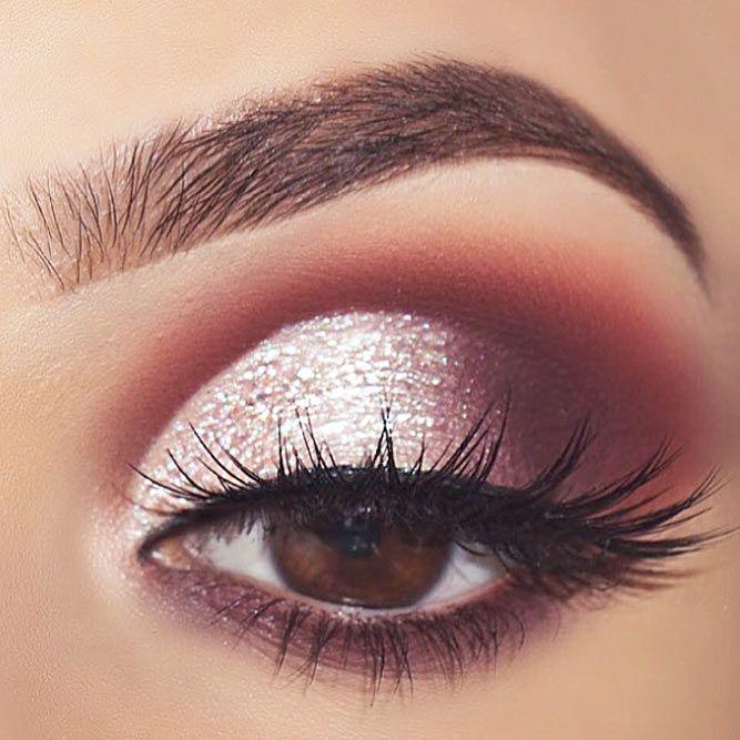 prom makeup tutorial brown eyes