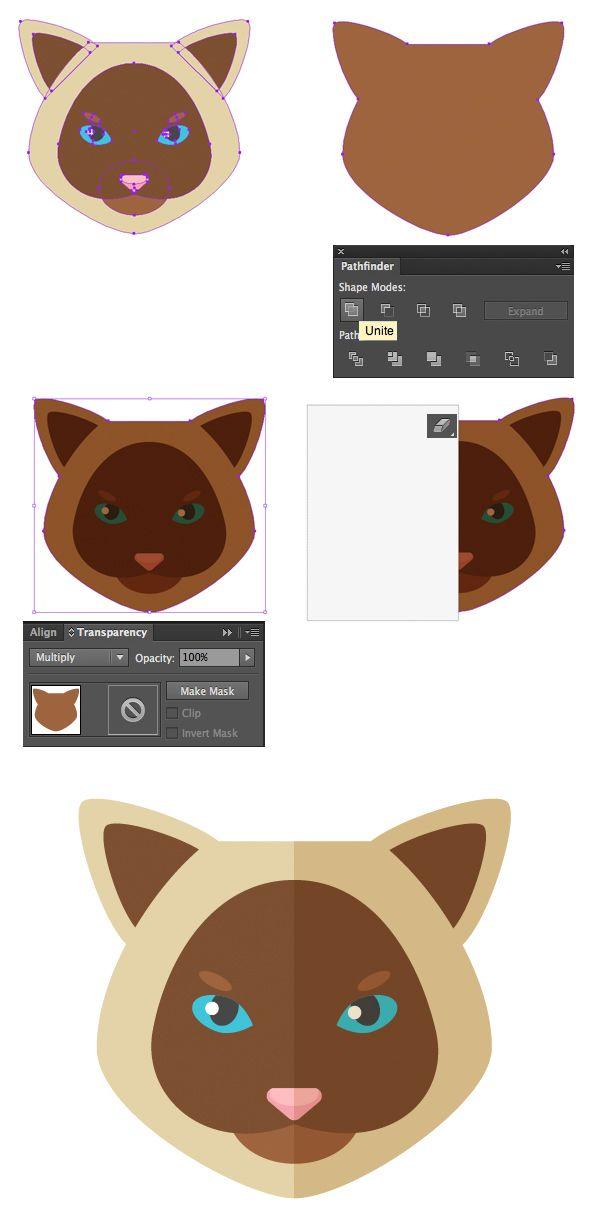 illustrator flat design tutorial
