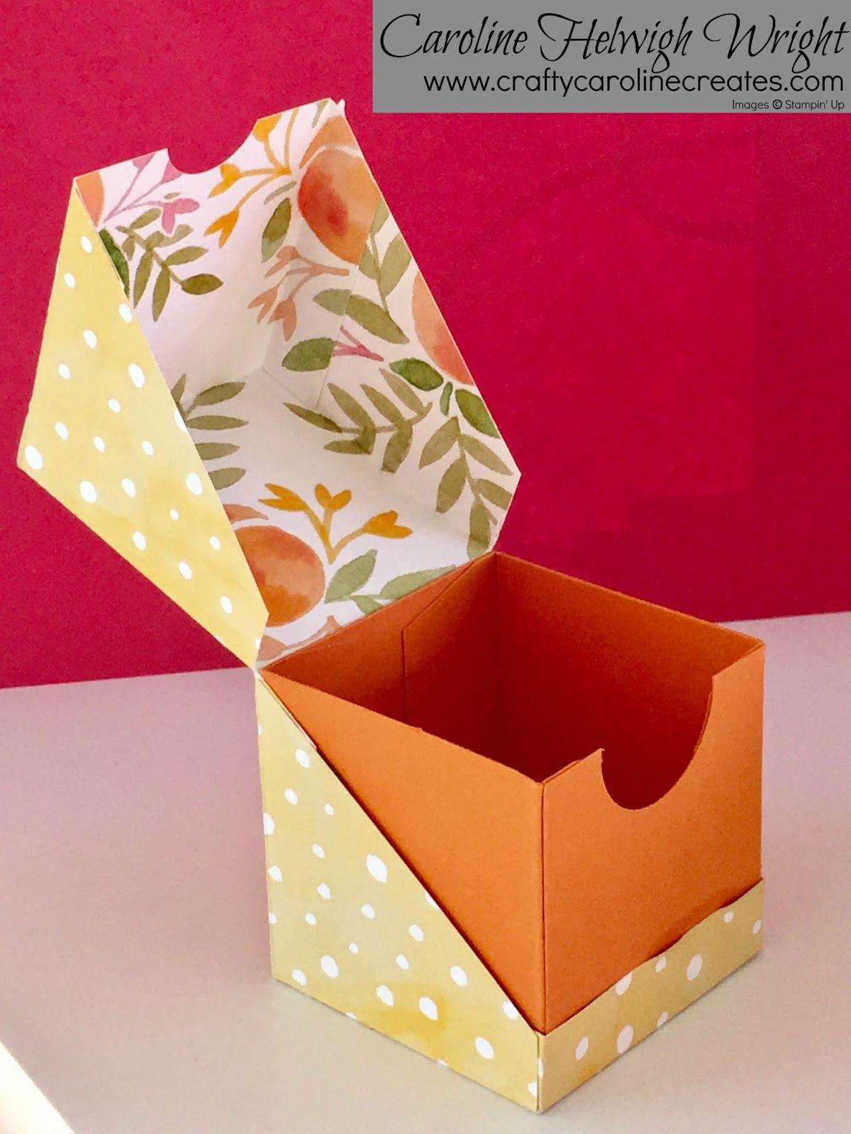 designer box in a bag tutorial