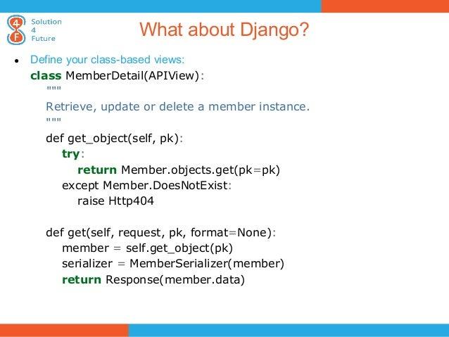 django class based views tutorial