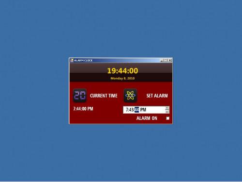 java alarm clock tutorial