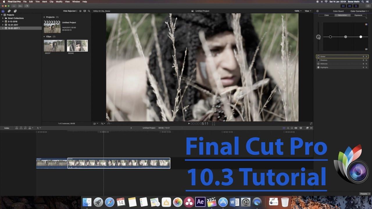 final cut pro 10 tutorial