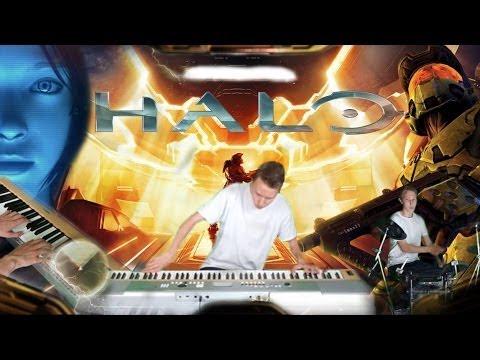 halo theme piano tutorial