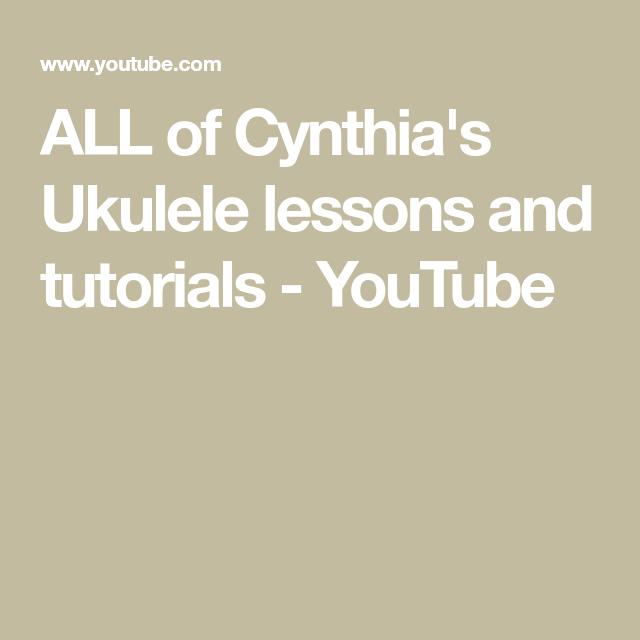 life on mars ukulele tutorial