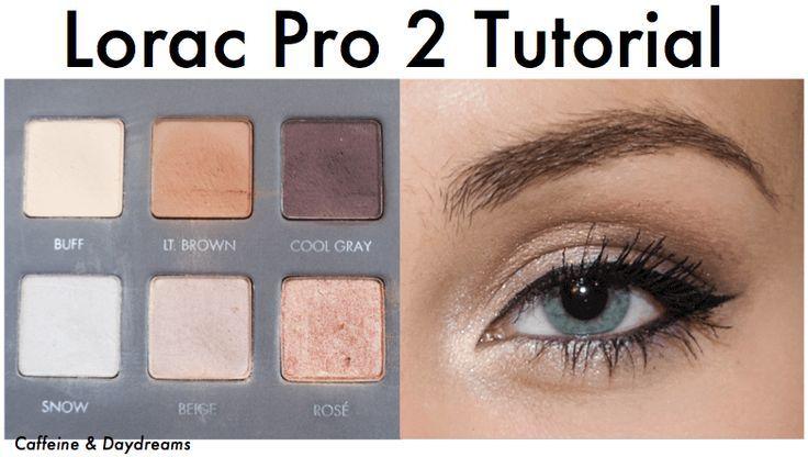 lorac pro eyeshadow tutorial