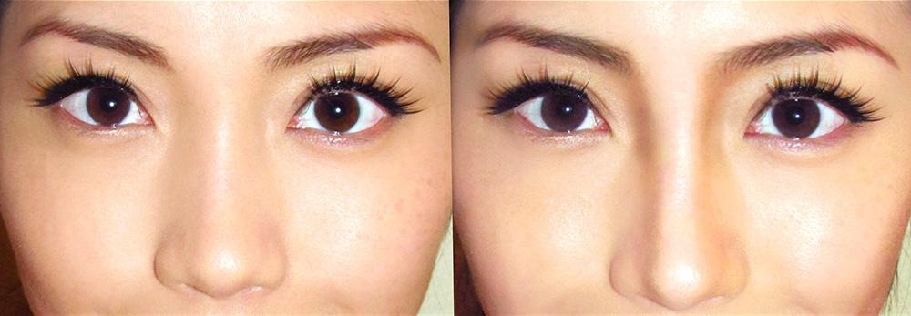 makeup tutorial to make nose look smaller