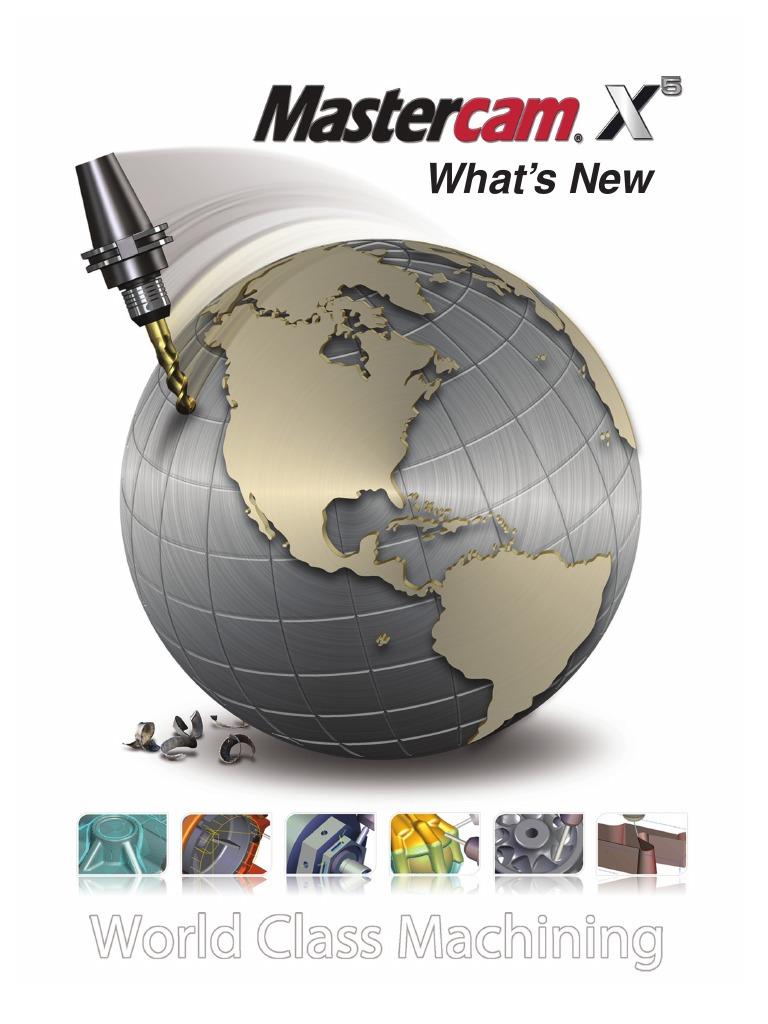 mastercam x8 mill level 1 training tutorial pdf