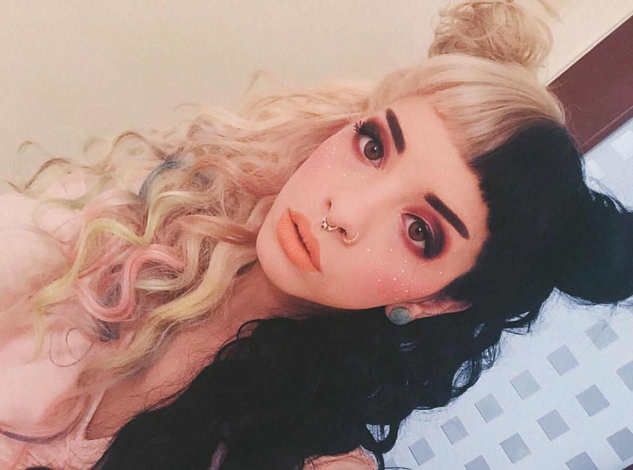 melanie martinez hair tutorial