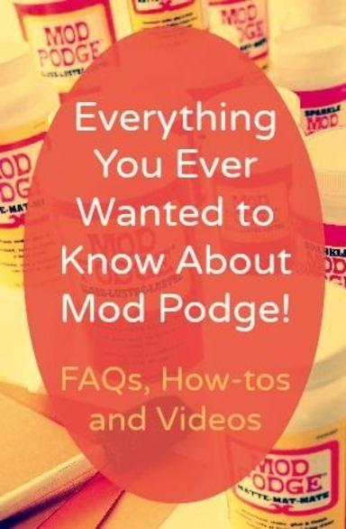 mod podge hard coat tutorial