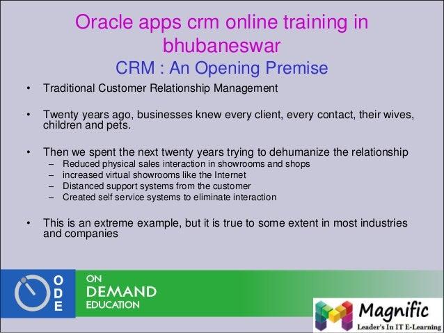 oracle crm tutorial pdf
