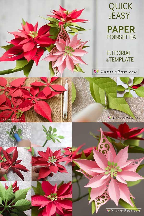 paper flower folding tutorial