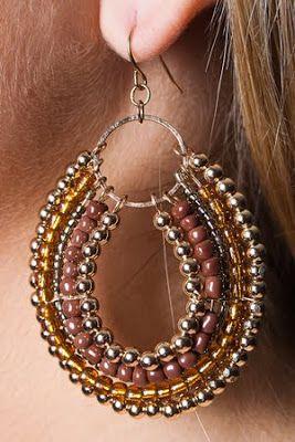 seed bead earring tutorial
