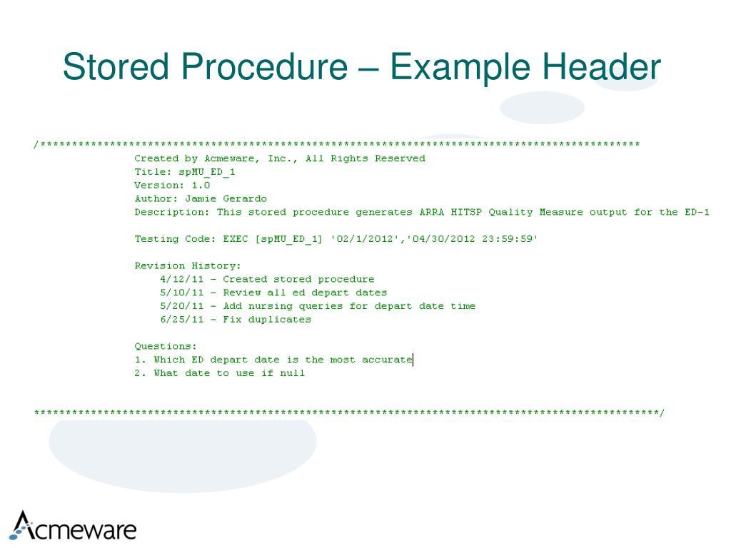 stored procedure tutorial pdf